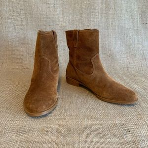 NWOT Rebecca Minkoff Boots Brown Leather Suede 8.5
